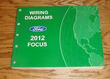 Original 2012 Ford Focus Wiring Diagrams Manual 12