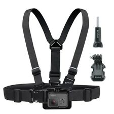 PULUZ Adjustable Elastic Body Chest Strap Harness for GoPro Hero 5 4 3 2