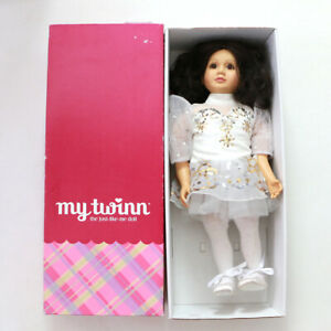 My Twinn Doll 23 Brunette Brown Eyes with Outfits 2002 Original Box