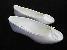 Pure & Precious Junior Prima Satin Communion Bridesmaid Shoes Size 30.5EU