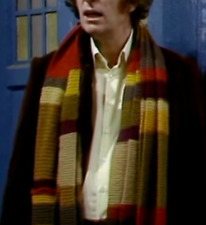 How to make a Tom Baker series 4 Dr Who scarf- easy vintage knitting pattern