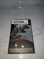 GIOTECK - Real Non-Slip Triggers For PS3 - Comfortable/Free Postage