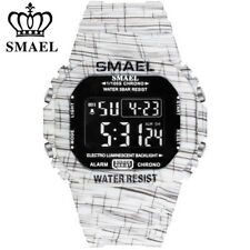 SMAEL Sport Watch for Men Fashion Digital LED Wristwatch Chronograph Watches