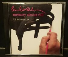 PAUL MCCARTNEY Memory Almost Full US Advance CD Humphrey Ocean PROMO