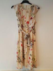 H&M Flowery  Maternity Dress Size L 14/ 16