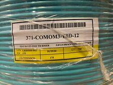 Commscope 12 Fiber 371-COMOM3-TBD-12 Optic Distribution Cable Riser 700'