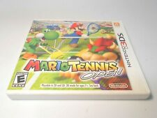 Mario Tennis Open (Nintendo 3DS) w/case & manual 2ds xl game