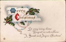 (vc7) Postcard: Christmas Greetings