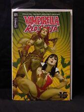 Dynamite Comics Vampirella Red Sonja #1 Tedesco Cover B Variant