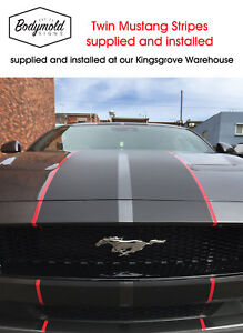 Mustang Twin Stripes installed at Kingsgrove NSW