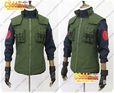 Kakshi Hatake from Naruto Cosplay Costume leader Only green vest