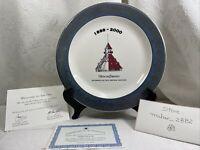 Collectible plate Hotel del Coronado 1888-2000 by Royal Rideau edition no. 253