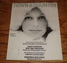 October 1975 Rolls Royce Town & Country Sales Brochure 75 Jaguar BMW