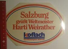 Pegatina/sticker: Koflach Salzburg felicita campeón mundial (12121646)