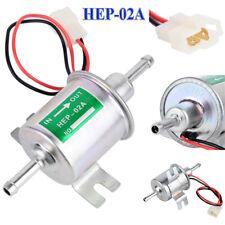 12V Universel Basse Pression Électrique Pompe À Carburant Essence Diesel HEP-02A