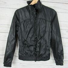 Gsus Sindustries Small Jacket Womens Black Zip Up Windbreaker