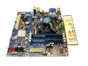 Intel DH55TC Socket 1156 HDMI Motherboard i3 CPU Cooler and 4GB DDR3 RAM