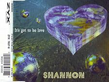 SHANNON It's Got To Be Love  5x cds ss 1995 ZYX Music Germany