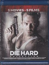 DIE HARD 5 MOVIES COLLECTION BLURAY SET with Bruce Willis & Samuel L. Jackson