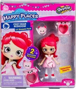 Shopkins Happy Places Season 3, Lil Shoppie Pack, Valentina Hearts