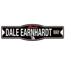 "Dale Earnhardt Official NASCAR 4"" x 17"" Plastic Street Sign by Wincraft"