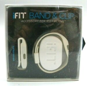 iFit Band and Clip **Accessory For iFit Active** (WHITE) *POD NOT INCLUDED* (D1)