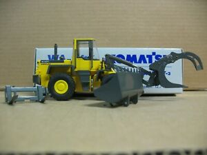 KOMATSU WA250PT-3 TOOL CARRIER WHEEL LOADER 1/50 CONRAD #2434 W/ORG BOX.