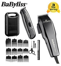 BABYLISS for Men 7446AGU CARBON TITANIO TOSATRICE & Trimmer Kit