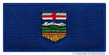 ALBERTA FLAG PATCH embroidered iron-on CANADA EMBLEM Canadian Province APPLIQUE