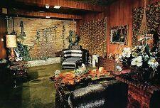 Elvis Presley, The Jungle Room at Graceland , Memphis, Tennessee --- Postcard