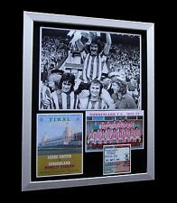 SUNDERLAND 1973 FA CUP FINAL LIMITED Numbered FRAMED+EXPRESS GLOBAL SHIPPING