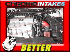 CF RED 00 01 02/2000 2001 2002 CADILLAC ELDORADO ESC/ETC 4.6 4.6L V8 AIR INTAKE