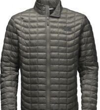 The North Face Mens Thermoball Jacket Full Zip BNWT  Medium Fusebox Grey
