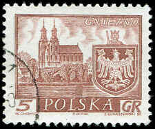 Scott # 947 - 1960 - ' Gniezno ', Historic Towns
