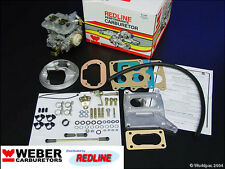 BMW 320/6 630CS Weber conversion kit by Redline w/Genuine 38/38 Weber