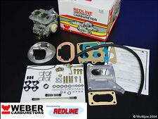 BMW 320/6 630CS Weber conversion kit by Redline w/Genuine 38/38 Weber