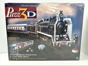 PUZZ 3D The Orient Express From the 20's Train Puzzle #49043 Hasbro 769 Pieces
