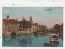 Rottderdam Albrechtskolk Netherlands Vintage Postcard 866a