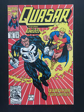 Box 39b, Comic Marvel, Quasar, # 42 Jan, Featuring The Punisher