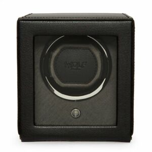 WOLF Cub 461103 Watch Winder with Cover - Black RRP £269 brand new in box