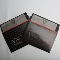 Vintage Apple II  II PLUS VisiSHEDULE Software VisiCorp 16 Sector 48K