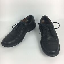 Clarks Plus Mens Stratton Way Leather Comfort Lace Up Oxfords Size 8.5