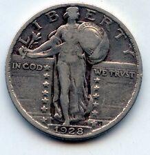 1928-p Standing liberty quarter (See Promo)