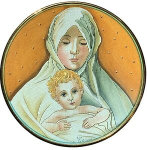 Veneto Flair Ziziano Mothers Day Precious Mother & Child Very Limited NICE! 1973