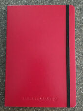 """Red Leatherette Bookbound Hard-Cover Journal 6"""" x 8.5"""""""