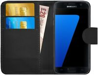 G-Shield® Etui Coque Housse Portefeuille PU Cuir Pour Samsung Galaxy S7