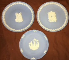 Wedgwood Christmas Plate Lot 1993 1997 1998 Vintage Christmas Made in England