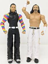 WWE Mattel Basic Battle Pack 59 The Hardy Boyz Matt Jeff Wrestling Figure Lot