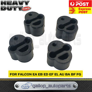 Exhaust Rubber Mount for Ford AU BA EA EB Falcon Fairlane Fairmont Territory x 4