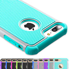 For iPhone 5 SE 6 6S 8 7 Plus Phone Case Hybrid Shockproof Armor Hard Cover